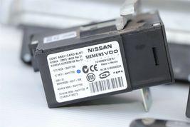 2008 Infiniti EX35 ECU BCM Ignition Keyless Entry Fob Combo Set image 7