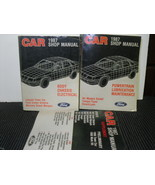 1987 FORD RWD full size Car Shop Manual Set Body/Chassis, Powertrain, Su... - $14.00