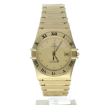 Omega Constellation Yellow-gold 398.0872 Champagne Dial Women's Quartz Watch - $5,342.50