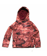 Nike NWT Size 2T Toddler Dri Fit Therma Pullover Hoodie Red Crush Camo KD29 - $21.20