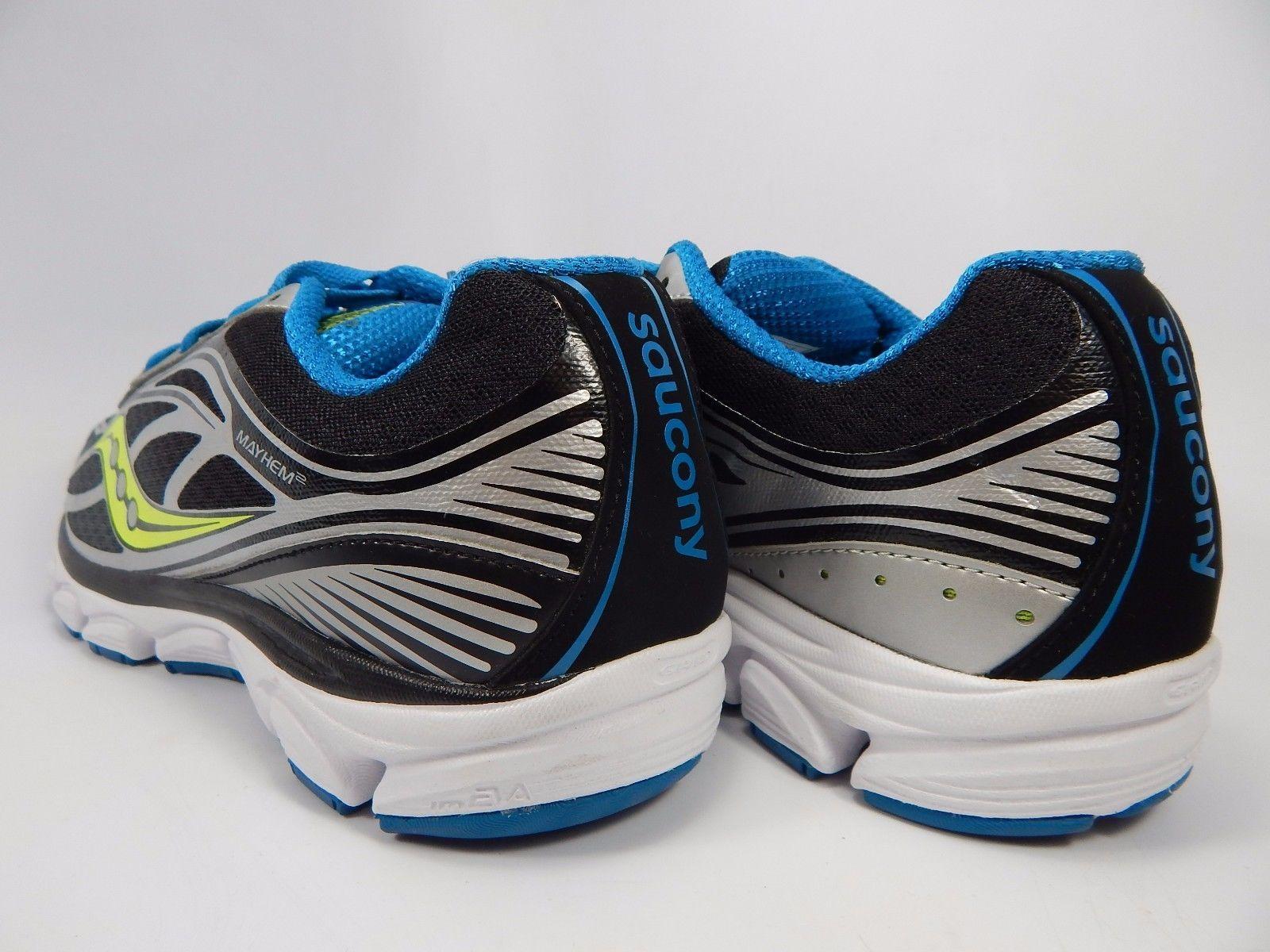 Saucony Mayhem 2 Men's Running Shoes Size US 9 M (D) EU 42.5 Gray Blue S25223-3