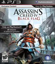 Assassin's Creed IV: Black Flag (Sony PlayStation 3, 2013)M - $6.01