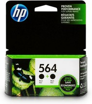 SEALED HP #564 / Photo Black / No Box / Cartridges / Lot of 4 / Free Shipping - $19.79