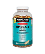 Super Concentrate Omega-3 Fish Oil, 330 Softgels -FROM CANADA -LONG EXPIRY - $34.56