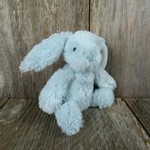Blue Bunny Rabbit Plush Beanie Manhattan Toy Stuffed Animal Bean Bag 2013 - $19.79