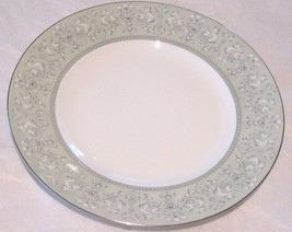 W Wedgwood China Juliet 8 inch Salad Plate  Green White New - $24.73