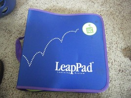 LeapPad Electronic Learning System Game & Book Zipper Storage Binder Case - $26.23