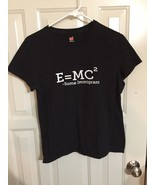 E=mc2 Immigrant T Shirt Size M - $9.89