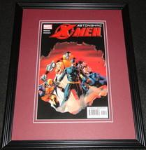 Astonishing X Men #7 Marvel Framed Cover Photo Poster 11x14 Official Repro - $39.59