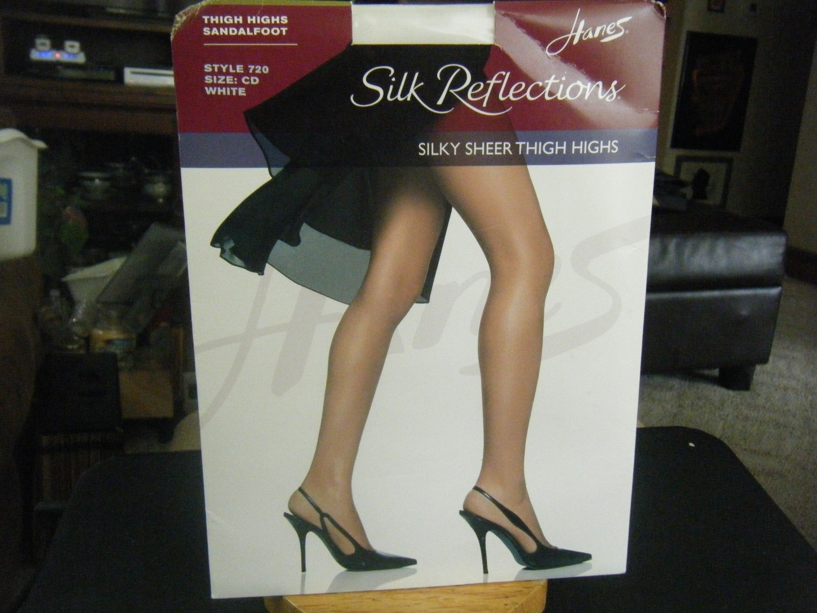 4aabf555bbd Hanes Silk Reflections Sandalfoot Silky and similar items. 57