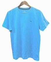 Tommy Bahama Men's Size S/P Short Sleeve Crew Neck Island Sleepwear T-Shirt Blue - $35.64