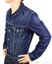 Levi's Men's Classic Cotton Button Up Blue Denim Jeans Jacket 707970013 Size XL image 5