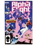 ALPHA FLIGHT #32-comic book MARVEL COMICS-MUTANTS! NM- - $18.92