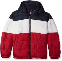 Tommy Hilfiger Men's Ultra Loft Insulated Classic Hooded Puffer Jacket Coat image 4