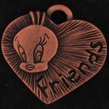CHARM Tweety Bird WARNER BROS LOONEY TUNES Copp... - $14.99
