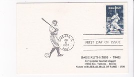 BABE RUTH #2046 CHICAGO, IL JULY 6, 1983 NT POSTCARD D-1155 - ₹217.21 INR