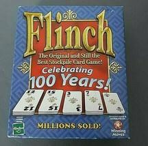 Flinch Card Game Celebrating 100 Years of Original Stockpile Card Game 2002 - $19.79