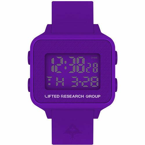 LRG Lifted Investigación Grupo Morado Digital LCD Árbol Busca Reloj Nuevo En Box