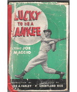 Lucky To Be A Yankee Trade Book, Joe Di Maggio Bio 1946 - $19.27