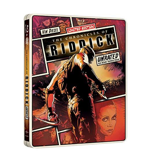 The Chronicles of Riddick Limited Edition Steelbook [Blu-ray + DVD]