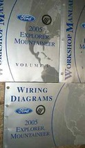 2005 Ford EXPLORER Mercury MOUNTAINEER SUV Service Shop Repair Manual Se... - $138.55