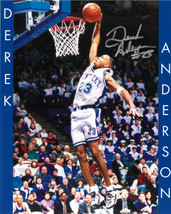 Derek Anderson signed Kentucky Wildcats 8x10 Photo #23 (name on sides) - $24.95