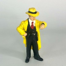 Dick Tracy Rubber Action Figure Vintage Toy - 1990 Disney Applause - $3.99