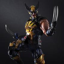 PLAY ARTS 26cm Marvel X-MEN Wolverine Action Figure Model Toys - $85.99