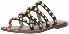 Sam Edelman Glenn Black Leather Sandals Size 6.5 M - $98.99