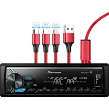 Pioneer MVH-X390BT Digital Media Receiver with Pioneer ARC app, MIXTRAX, Built-i - $265.99