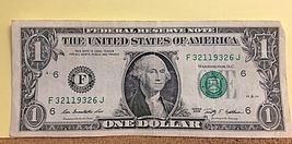 (3/21/1932)Birthday Note Dollar Bill - $15.00