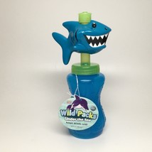 Bobble Head Water Bottle-Shark With Freezer Stick - $6.95
