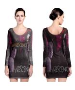 Evanescence Women Sexy Long Sleeve Bodycon  Dress - $24.80+