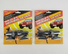 (Lot of 2) Wildlife Warning 2 Pack Device Wind Activated Ultransonic Sou... - $9.60