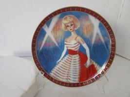 Danbury Mint Collector Plate Barbie Holiday Dance High Fashion Barbie 5704 - $4.90