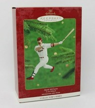 Mark McGwire Hallmark Christmas Ornament at the Ballpark Baseball New - $4.94