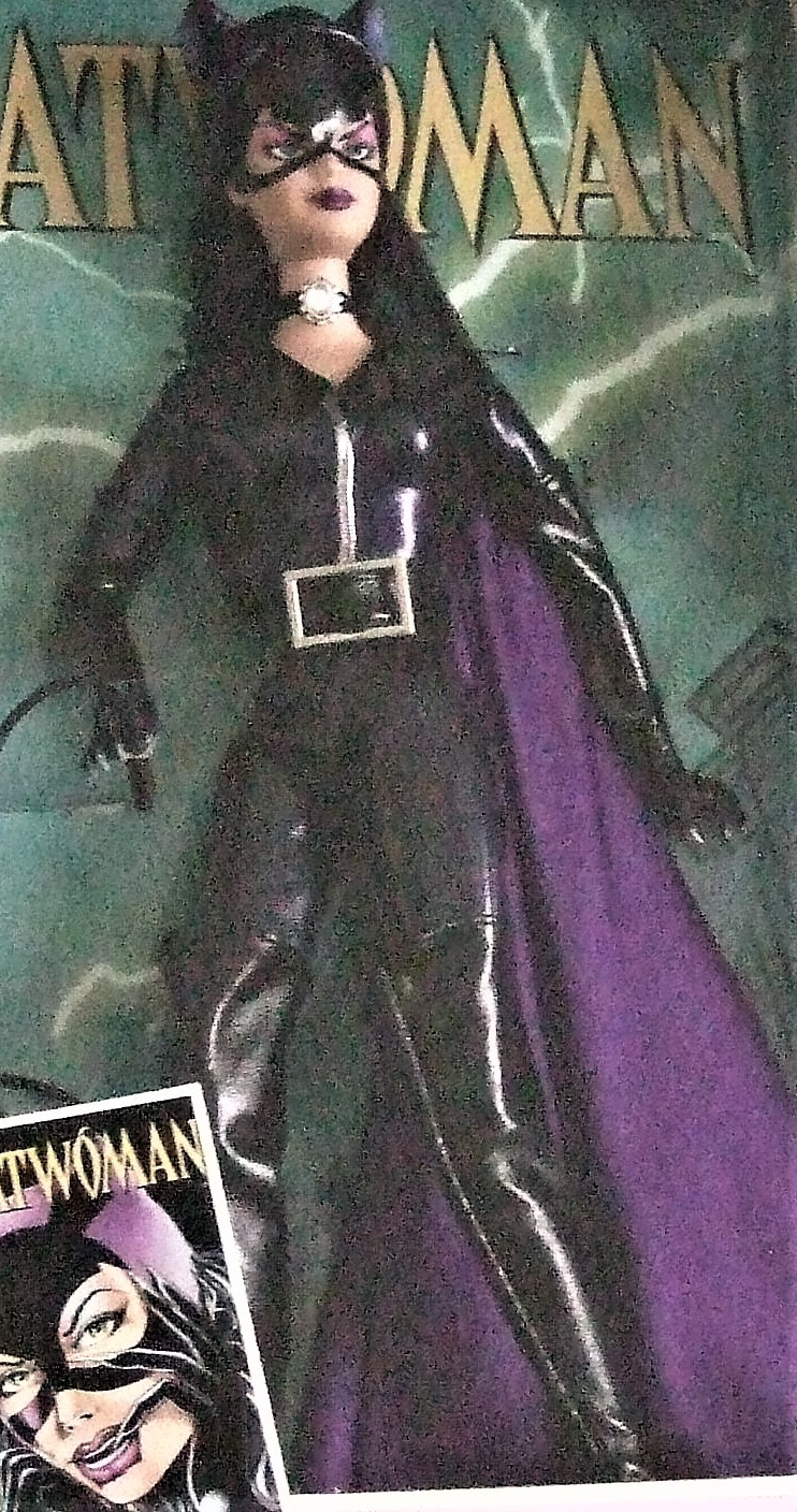 Barbie Doll -Mattel Barbie as Catwoman B3450 New image 4