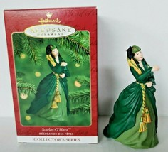 2000 Hallmark Ornament Scarlett O'Hara Gone With The Wind  Green Dress U17 - $19.99