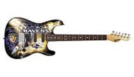 Woodrow NENFL03 Baltimore Ravens Northender Guitar - $544.49