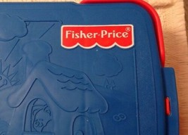 Fisher Price PUZZLE BOOK Vintage - 2403, Shapes Not Included, Great w/ P... - $7.59