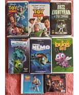 Disney Pixar Lot of 6 VHS Plus 2 CD's - $34.64