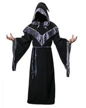 JUDE Adult Men's Dark Mystic Sorcerer Robe Halloween Cosplay Costume Fan... - $50.03+
