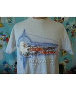 Vintage 80s Harley Davidson Motorcycle For Bikers Only T Shirt XL  - $49.49