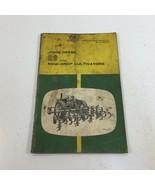 John Deere RG Row Crop Cultivators Operator's Manual OM-N97654N - $19.99