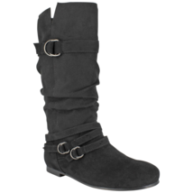 Women's Dolce Jussie Slouch Boot Black Size 7 #NJZVH-615 - $39.99
