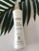 Nexxus Sleek Memory Straightening Smoothing Spray NEW 7.5 Oz FAST SHIP - $39.59