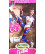 Barbie Olympic Gymnast Barbie Doll (Auburn Hair 1995) - $27.71