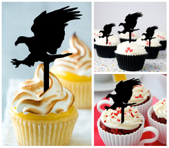 Decorations Wedding,Birthday Cupcake topper, love eagles Package : 10 pcs - $10.00