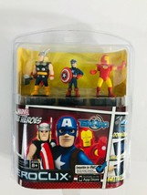 Marvel Super Heroes Heroclix Tab App Thor Captain America Iron Man Avengers - $12.84
