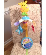 Fisher Price Discover 'n Grow 2-in-1Take Along Musical Mobile EXCELLENT ... - $29.70